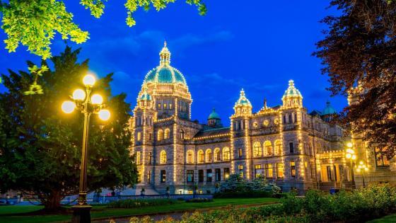 British Columbia Parliament Buildings wallpaper