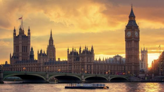 Palace of Westminster and Big Ben (London) wallpaper