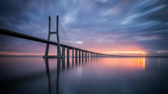 Vasco da Gama Bridge wallpaper