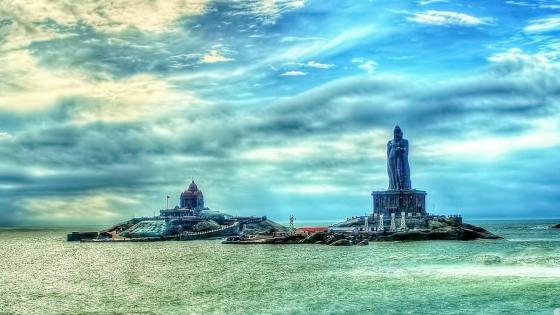 Saint Thiruvalluvar Statue (Kanyakumari, India) wallpaper