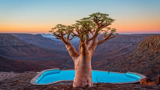 Lodge in Namibia wallpaper