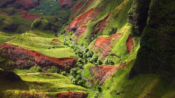 Waimea Canyon, Hawaii wallpaper