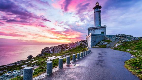 Punta Nariga Lighthouse (Spain) wallpaper