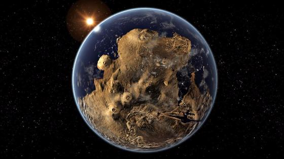 Alien planet - Fantasy art wallpaper