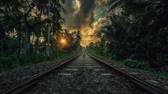 Sri Lanka railway wallpaper