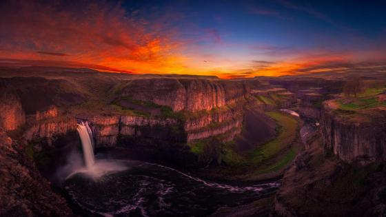 Palouse Falls State Park (Washington) wallpaper