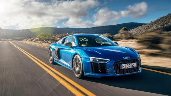 Audi R8 V10 Spyder wallpaper