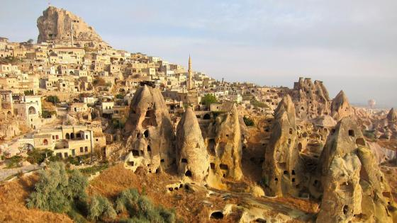 Uchisar - Cappadocia, Turkey wallpaper