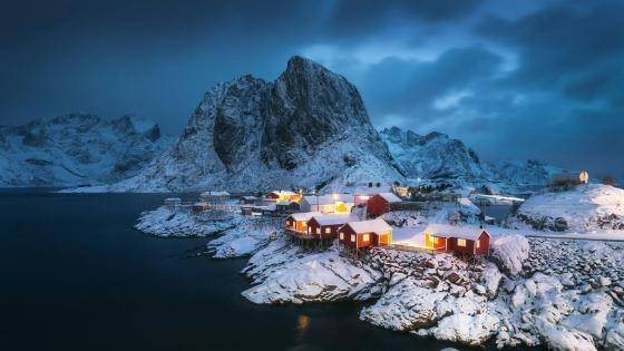 Hamnoy (Lofoten, Norway) wallpaper