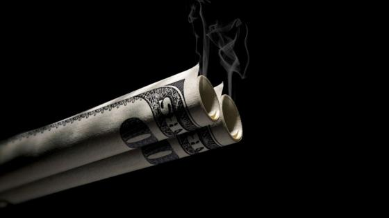 MONEY SMOKING wallpaper