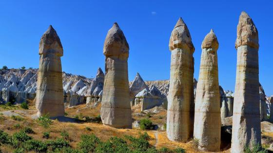 Love Valley (Cappadocia, Turkey) wallpaper