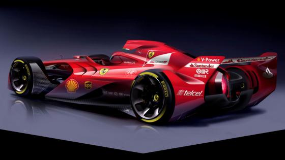 The new ferrari wallpaper