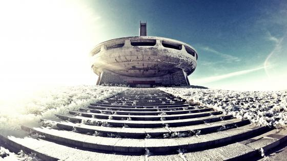 Buzludzha Monument (Bulgaria) wallpaper