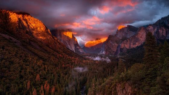 Yosemite National Park, Yosemite Valley wallpaper