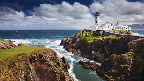Fanad Head Lighthouse (Portsalon,Ireland) wallpaper