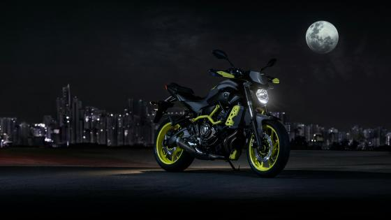 Yamaha MT-07 wallpaper