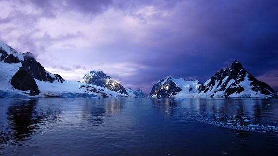 Antarctica landscape wallpaper