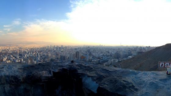 Tehran skyline wallpaper