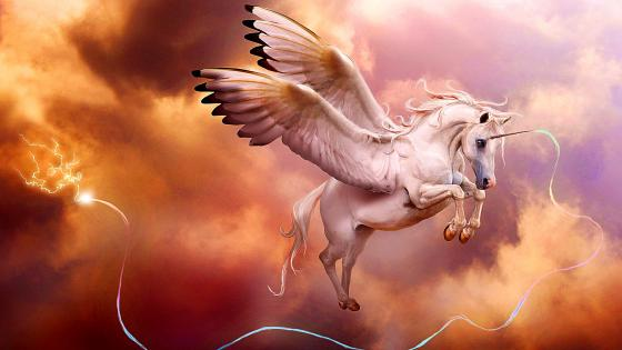 Pegasus Unicorn wallpaper