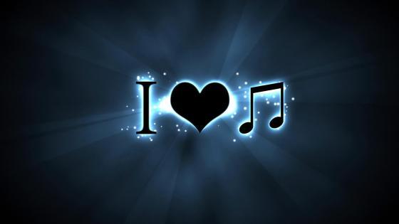 Music lover wallpaper