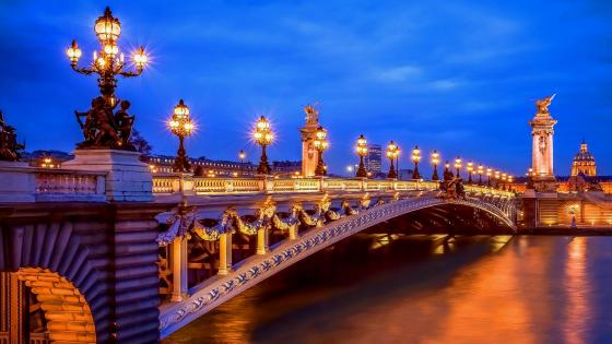 Pont Alexandre III (Paris, France) wallpaper