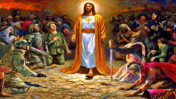 Jesus Soldiers wallpaper