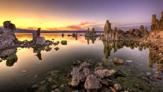 Mono Lake (Mono Lake Tufa State Natural Reserve) wallpaper