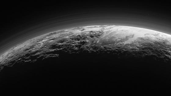 Planet Pluto wallpaper