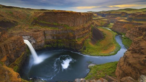 Palouse Falls wallpaper
