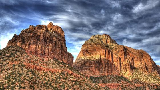 Angels Landing, Zion National Park wallpaper