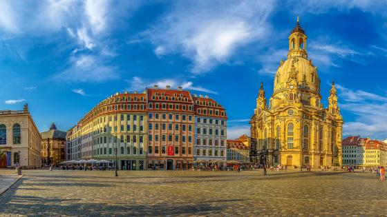 Dresden Frauenkirche (Church of Our Lady) wallpaper