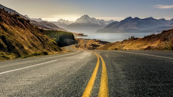 Aoraki Mount Cook National Park (New Zealand) wallpaper