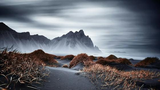 Stokksnes peninsula (Vatnajokull National Park) wallpaper