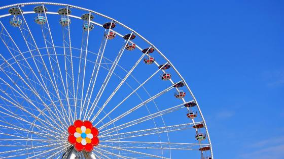 Vienna Ferris Wheel wallpaper