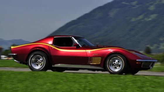 1970 Corvette Stingray 454 wallpaper
