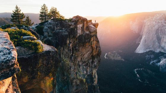 Yosemite National Park, Taft Point wallpaper