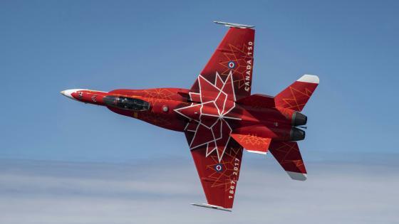 McDonnell Douglas CF-18 Hornet wallpaper