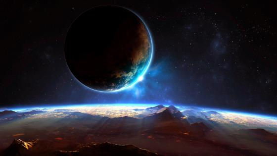Distant Planet wallpaper