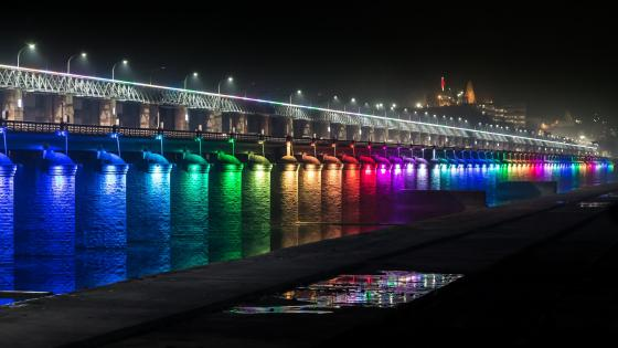 Prakasam Barrage wallpaper