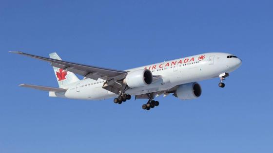 777-300 Air Canada wallpaper