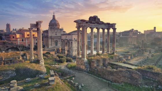Roman Forum (Forum Romanum) wallpaper