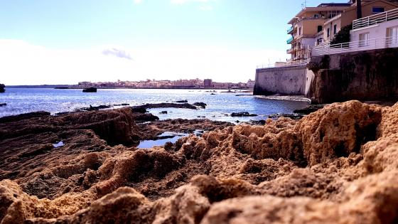 Siracusa coastline wallpaper