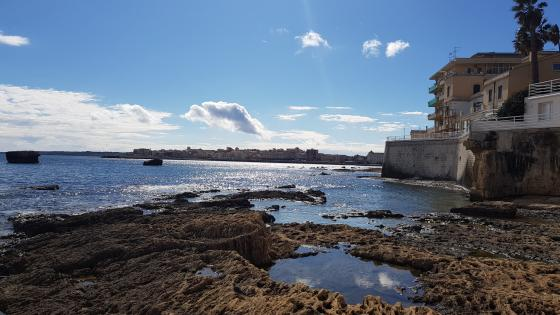 Siracusa beach wallpaper