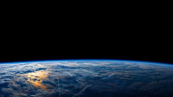 Earth From the International Space Station wallpaper