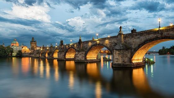 Charles Bridge, Prague wallpaper