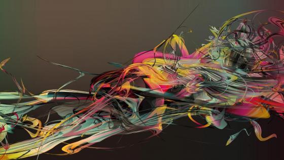 Motion graphics wallpaper