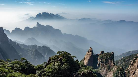 Mount Sanqing wallpaper