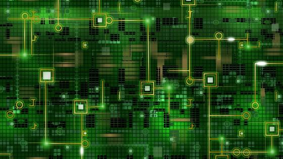 Inside the computer wallpaper