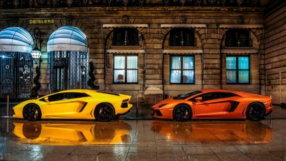 Lamborghini Aventador supercars wallpaper