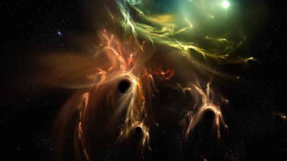 Planetary nebula - Space Art wallpaper